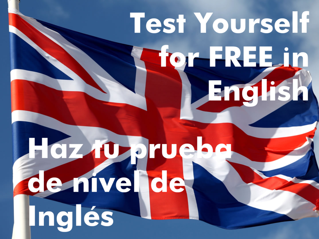 Test yourself in English